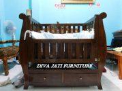 Jual Tempat Tidur  Bayi Tanggerang Kayu Jati