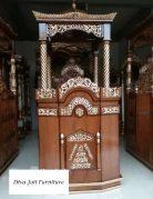 Mimbar Masjid Bandung Kubah Ukiran Modern Terbaru