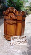 Jual Mimbar Masjid Demak Minimalis Kayu Jati Ukiran