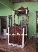 Jual Mimbar Masjid Kota Bekasi Kayu Jati