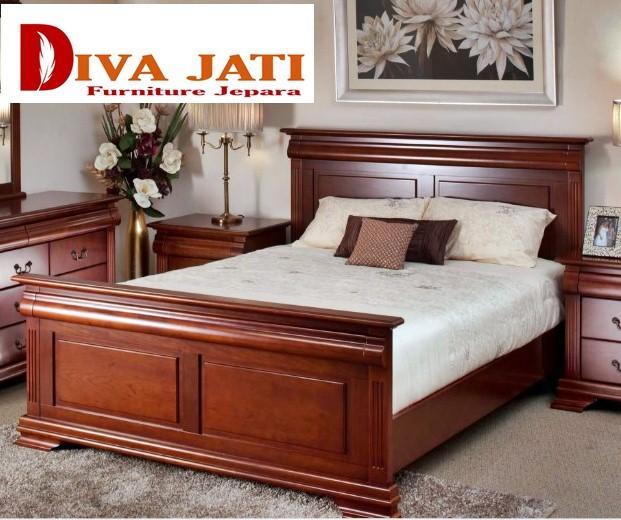 Jual Tempat Tidur Jati Jakarta Kayu Jati Model Minimalis