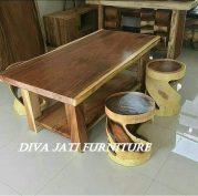 Meja Trembesi Kayu Tebal Kota Semarang Terbaru