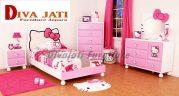 Kamar Set Malang Anak Perempuan Karakter Hello Kitty
