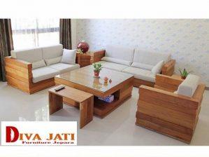 Kursi Tamu Kota Bogor Kayu Jati Sofa Minimalis