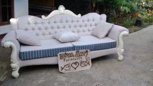 Kursi Tamu Sofa Bogor Putih Duco Modern
