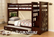 Jual Set Tempat Tidur Tingkat  Anak Kayu Jati
