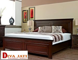 Tempat Tidur Semarang Minimalis Kayu Jati Modern