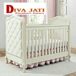 Box Bayi Palembang Putih Duco Jok Kain Minimalis
