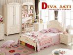 Kamar Set Anak Depok Perempuan Minimalis Putih Duco