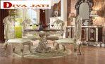 Set Meja Makan 4 Kursi Mewah Bandung Cleopatra