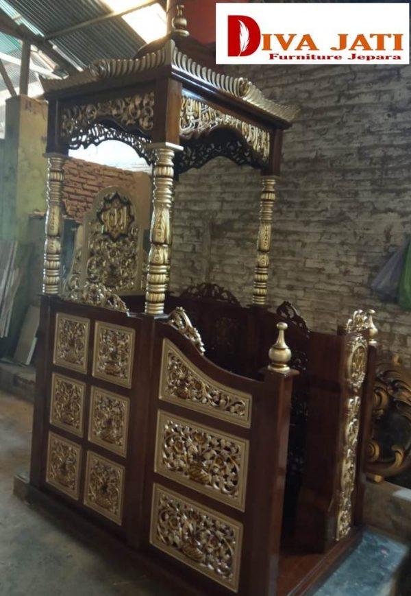 mimbar masjid bandung