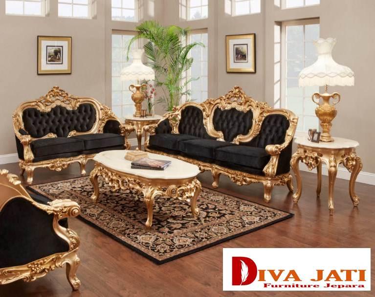 Desain Ruang Tamu Super Mewah set kursi tamu sofa mewah termewah harga murah modern