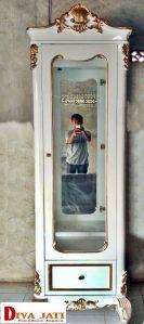 Di Kediri Jual Lemari Hias Mewah Berlaci Satu Pintu Modern