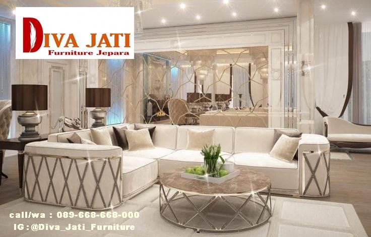 Jual Sofa Mewah Minimalis Terpopuler Di Indonesia